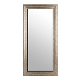 Antiqued Silver Mirror, 65x32