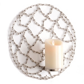 Chained Circle Wall Sconce