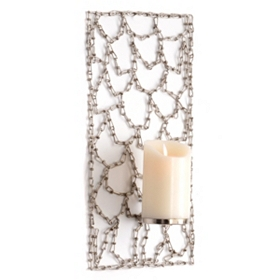 Chained Panel Wall Sconce