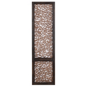 Pierced Wood Wall Panel