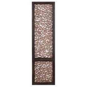 Pierced Wood Wall Panel