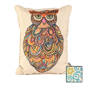 Reversible Owl Pillow