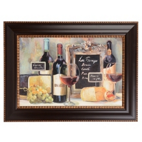 Les Fromages Framed Art Print