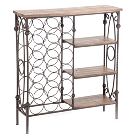 Edmundson Storage Wine Rack