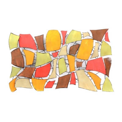 Chi Abstract Metal Wall Art
