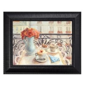 Le Petit Dejeuner Framed Art Print