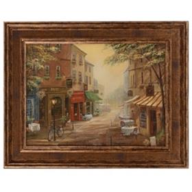 Bogie's Pub Framed Art Print
