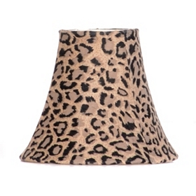 Leopard Print Chandelier Shade