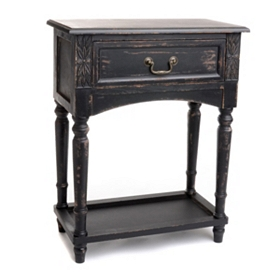 Bailey Black Accent Table
