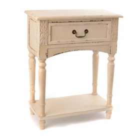 Bailey Cream Accent Table