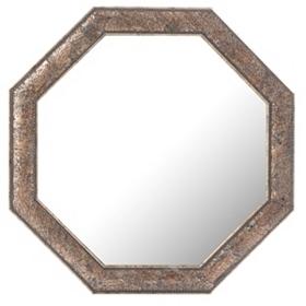 Roxbury Octagonal Mosaic Wall Mirror, 28x28