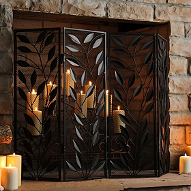 Timberland Fireplace Screen
