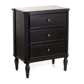 Black Beckett Side Table