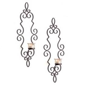 Venice Wall Sconce, Set of 2