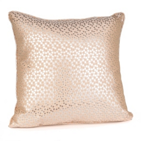 Confetti Metallic Ivory Pillow