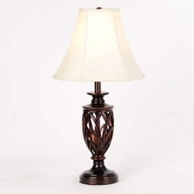 Dark Bronze Open Body Table Lamp