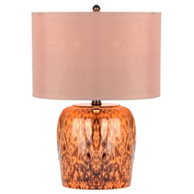 Amber Tortoise Table Lamp