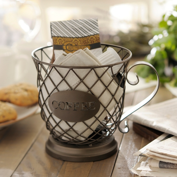 Hostess gifts and hostess gift ideas kirklands coffee cup basket negle Image collections