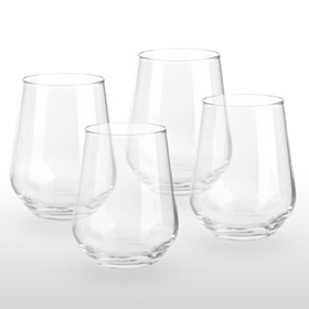 Mix Series Stemless Wine Glass, Set of 4