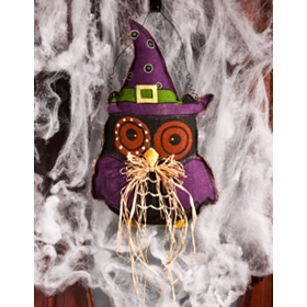 Hoot Owl Hanging Wall Decor