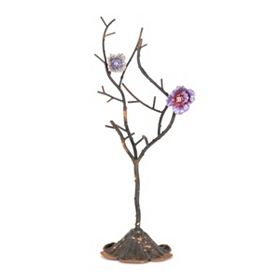 Metal Jewelry Holder Tree