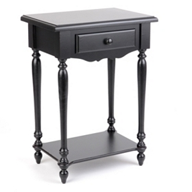 New Orleans Black Accent Table