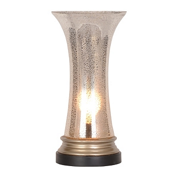 Fluted Mercury Glass Uplight Kirklands