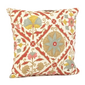 Jiya Floral Medallion Pillow