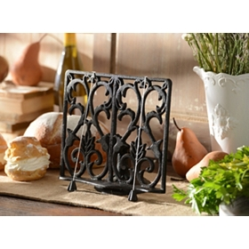 Cast Iron Cookbook Holder