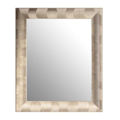 Metallic Swirl Mirror, 22x28
