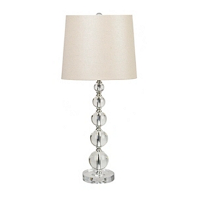 Crystal Sparkle Table Lamp