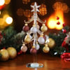 Metallic Glass Christmas Tree