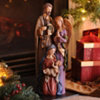 Ceramic Holy Family Statue, 18 in.