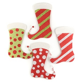 Glitter Stocking Ornament