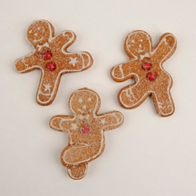 Dancing Gingerbread Man Ornament