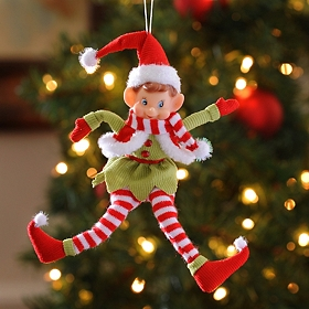 Pixie Elf Ornament, 10 in.