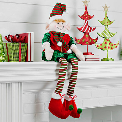 Ritzy Elf Shelf Sitter