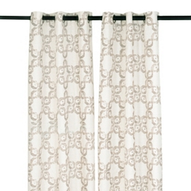 Mushroom Infinity Curtain Panel, Set of 2