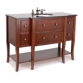 Danville Mahogany Vanity Sink, 48 in.