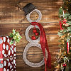 Rustic Snowman Wreath, 32 in.