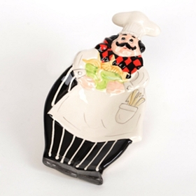 Ceramic Chef Spoon Rest