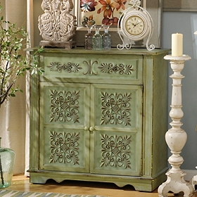 Cathedral Tiles Cabinet