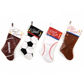 Sports Christmas Stocking