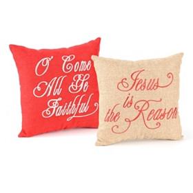 Reason for the Season Accent Pillows