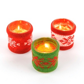 Christmas Sweater Votives