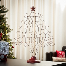 Wishing You a Merry Christmas Statue
