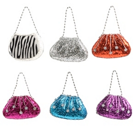 Glitter Purse Ornament