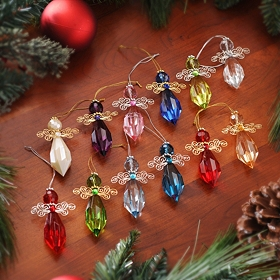 Birthstone Angel Ornament