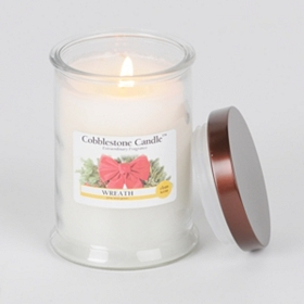 Wreath Jar Candle