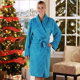 Women's Plush Robe